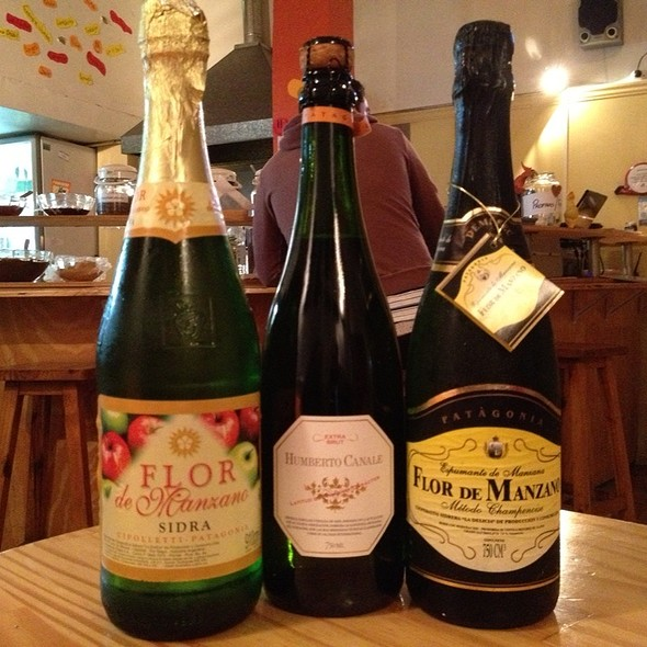 Champagne And Cider (Cidre) @ Waffle Sur