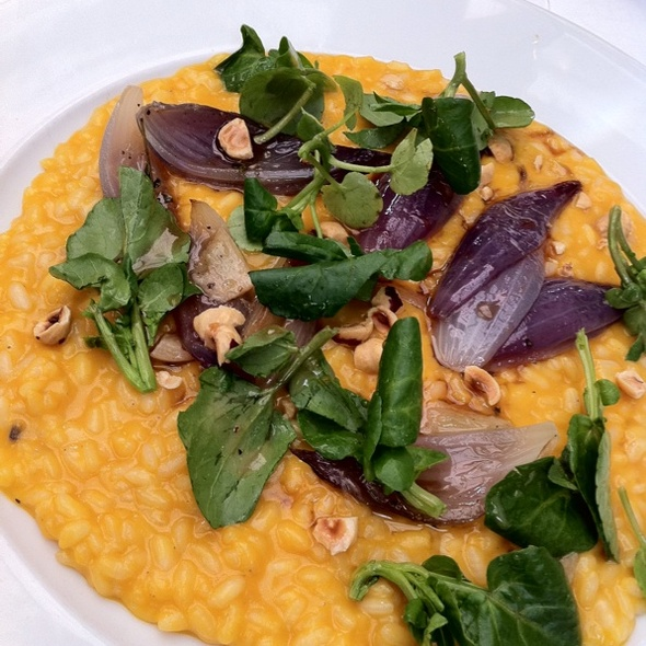 Butternut Squash Risotto @ Tannery Restaurant