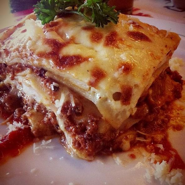 Lasagna Al Forno @ Pisa Kafe