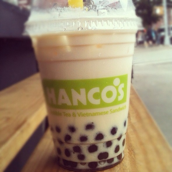 Coconut Milk Tea With Boba