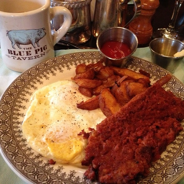 Corned Beef Hash - The Blue Pig Tavern, Cape May, NJ