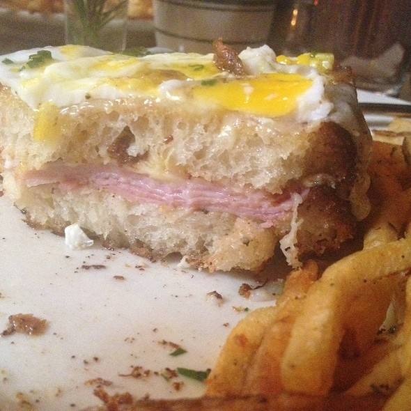 Croque Madame @ Le Barricou