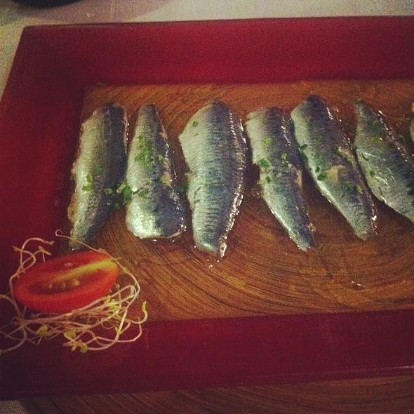 Marinated Sardines @ Pancho