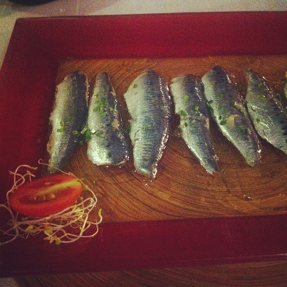 Marinated Sardines @ Pancho