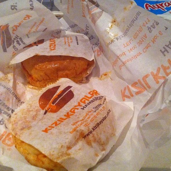 Doner Kebab, Wet Hamburgers @ KIZILKAYALAR HAMBURGER