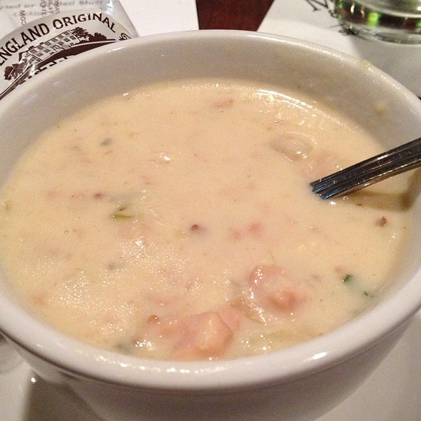 New England Clam Chowder @ M & S Grill