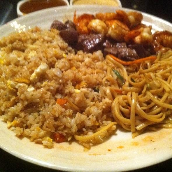 Hibachi Filet Mignon & Shrimp Dinner