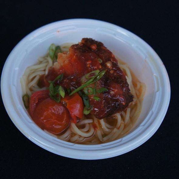 Smoky Ramen Noodles