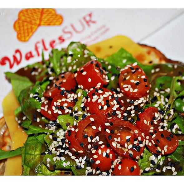 Green Waffle @ WaflesSUR San Telmo