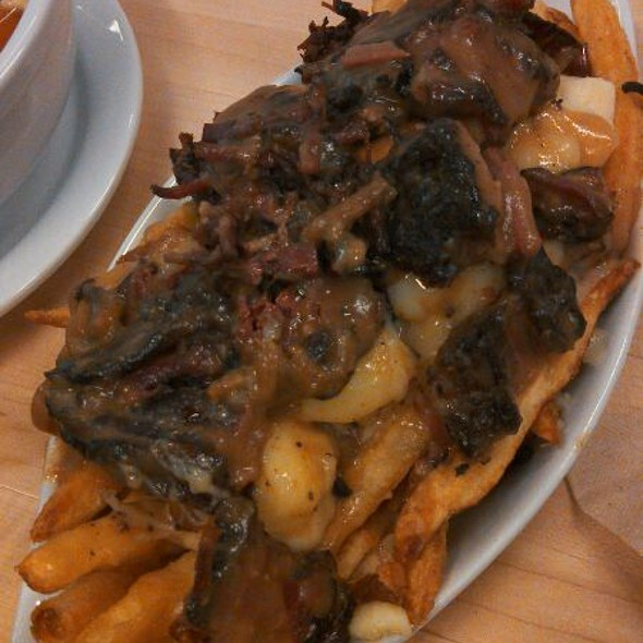 Smoked Meat And Poutine @ Mile End Sandwich