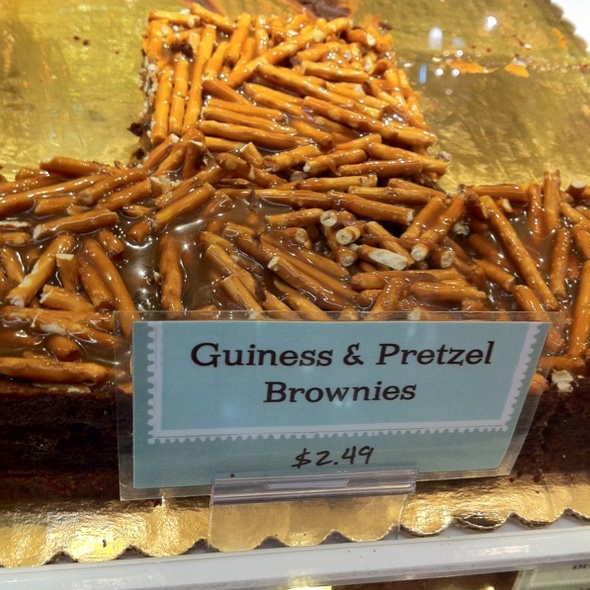Guiness And Pretzel Brownies @ Giant Eagle Market District