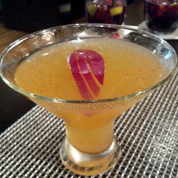 Apple  & Cinnamon Margarita - White Oak Kitchen + Drinks, Houston, TX