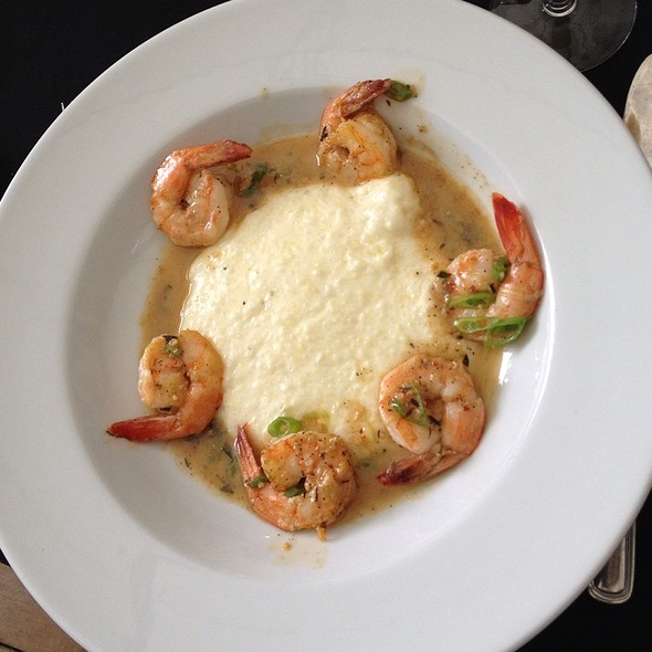 Shrimp & Grits - On The Verandah, Highlands, NC