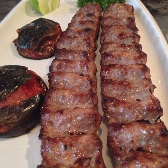 Koobideh (Ground Beef) Kabob @ Darbar Persian Grill