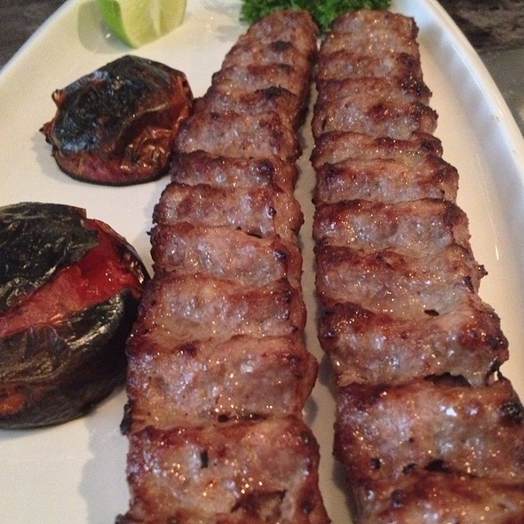 Koobideh (Ground Beef) Kabob @ Darbar Persian Grill