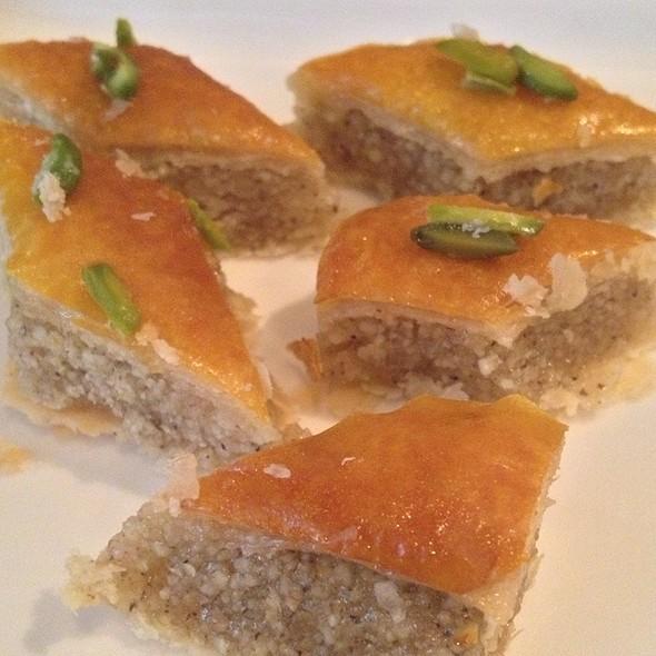 Baklava @ Darbar Persian Grill