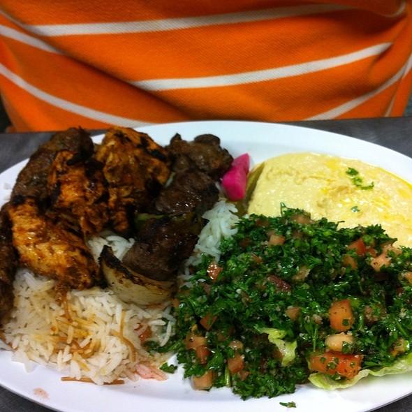 Mixed Platter @ Zeitouni Mediterranean Grill