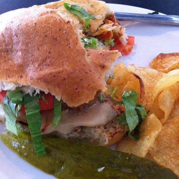 Spicy Chicken Sandwich @ Old Orange Cafe & Catering Co