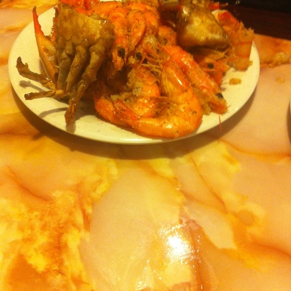 Shrimp & Blue Crab