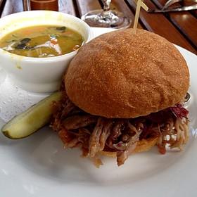 Duck Confit Sandwich - Madison's, Highlands, NC