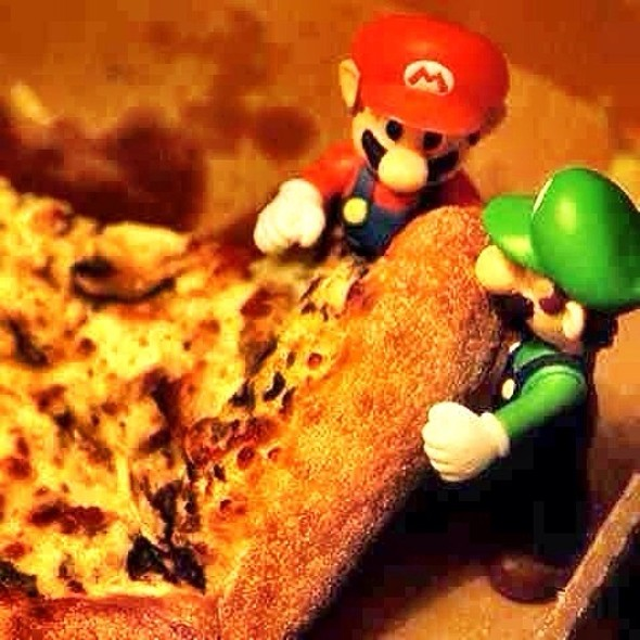 Pizza @ Alberto's Cafe!!!