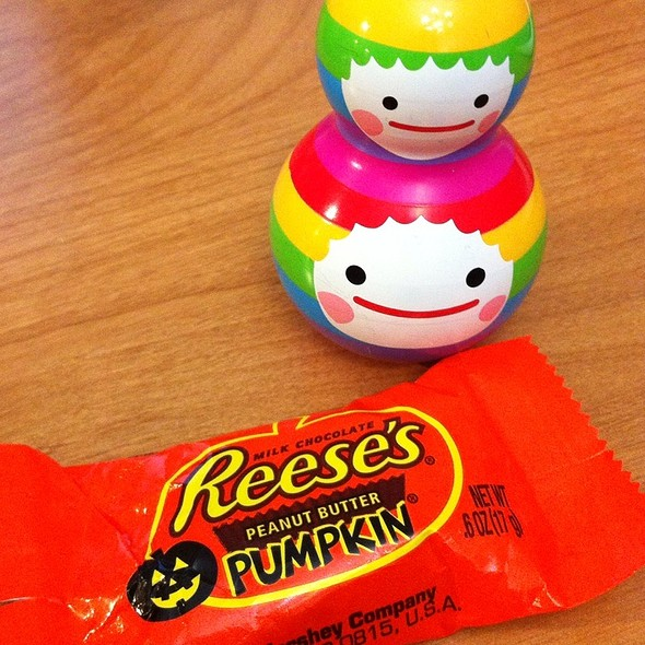 Fall Is Here Yaaay!!! Pumpkin Reese's  @ D Office
