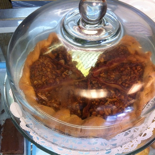 Bacon Bourbon Pecan Pie @ Dixie Supply Bakery And Cafe