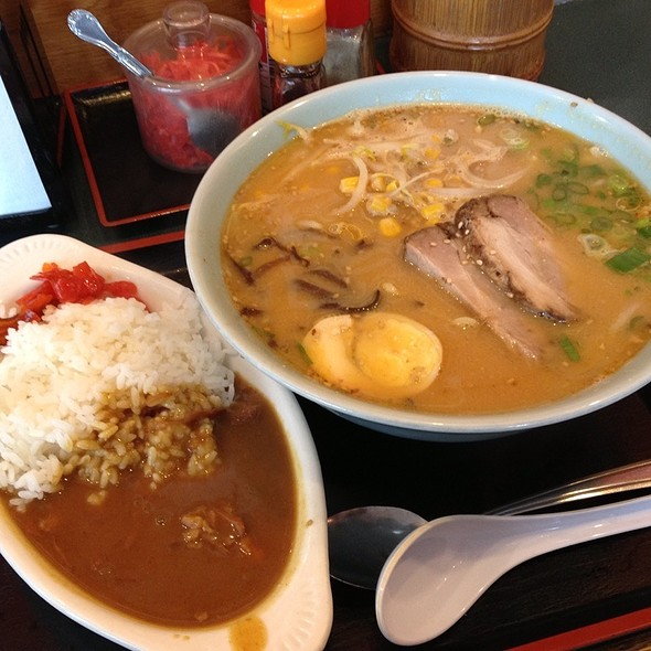Miso Ramen Curry Combo