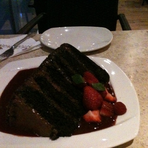 great wall of chocolate @ P.f. Changs, Plaza Carso