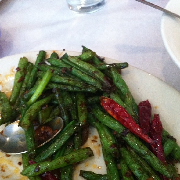 Schezuan String Beans - Moon Palace Restaurant, Chicago, IL