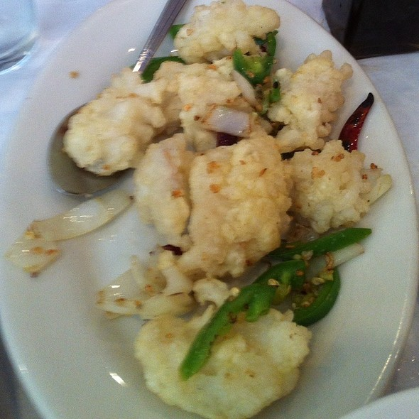 Salt and Pepper Squid - Moon Palace Restaurant, Chicago, IL