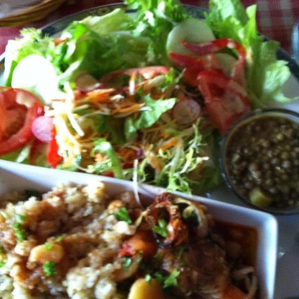 Vegeterian Meal @ Au Plaisir De Vivre