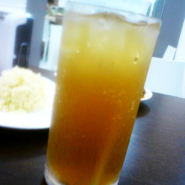 Iced tea @ Hainanese Delights