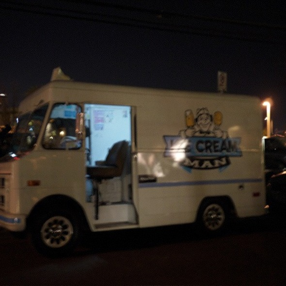 Free Ice Cream @ Ice Cream Man