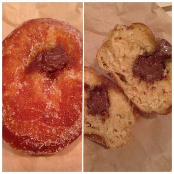 Chocolate Hazelnut Bombolone