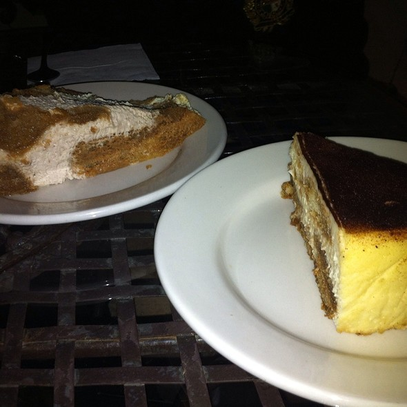 Tiramisu And Zuppa Inglese