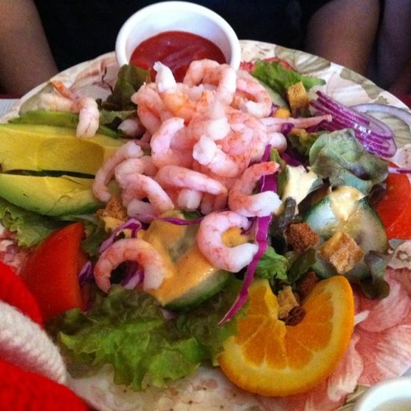 Shrimp and Avocado Salad @ The English Rose
