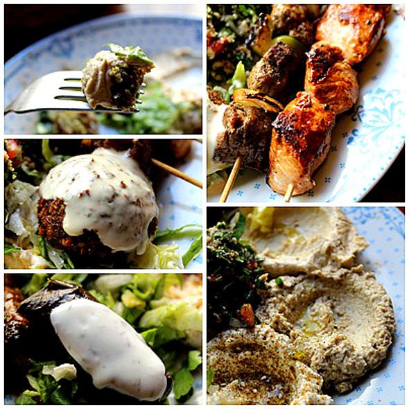 Lebanese Platter @ Restaurant Zeder