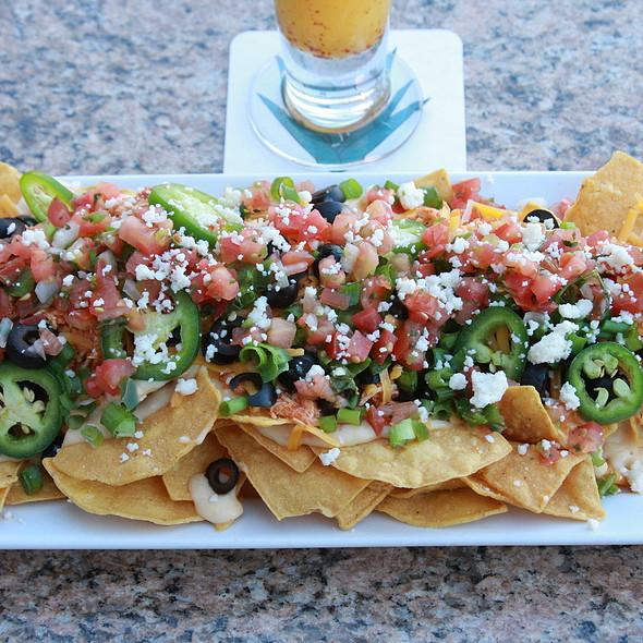 Oaxaca Cheese Nachos @ Salud Lobby Lounge