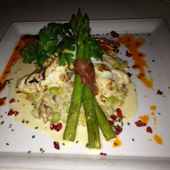 Lobster Tail And Risotto - The Winery Restaurant & Wine Bar- Tustin, Tustin, CA