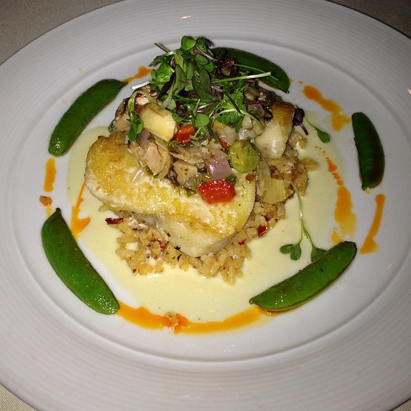 pan roasted sea bass - The Winery Restaurant & Wine Bar- Tustin, Tustin, CA