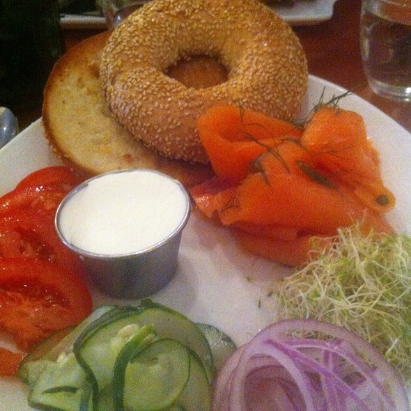 Bagel with Lox - Lula Cafe, Chicago, IL