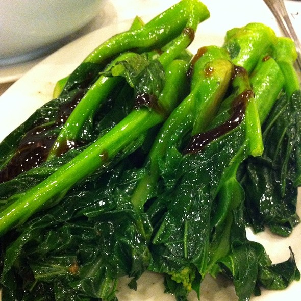 chinese broccoli @ International Seafood Restaurant