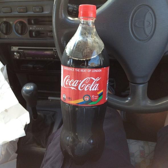 Coca Cola @ Leo's Takeaway