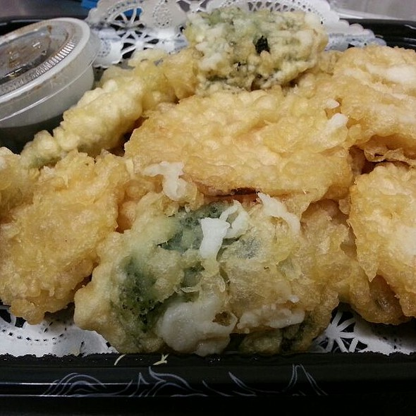Vegetable Tempura @ Toro Sushi