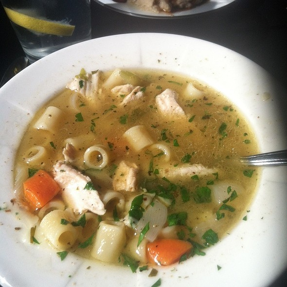 Capon And Ditalini Soup  - Sausalido - Pittsburgh, Pittsburgh, PA
