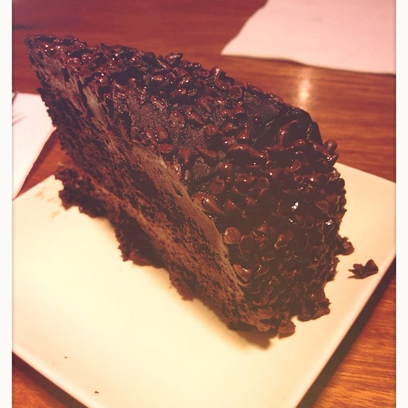 Chocolate Blackout Cake @ Mad Mark's Man Sandwiches + Frozen D