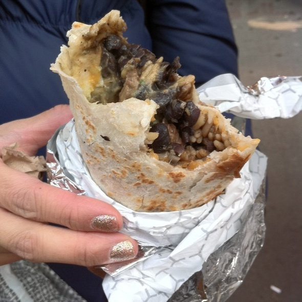 Grilled Steak Burrito @ Calexico