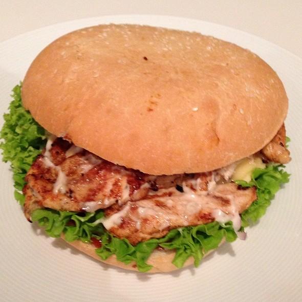 Chicken Cranberry Camembert Burger @ Upland Kebab