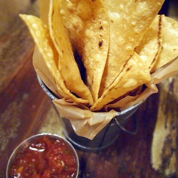 Tortilla Chips - The Painted Burro, Somerville, MA